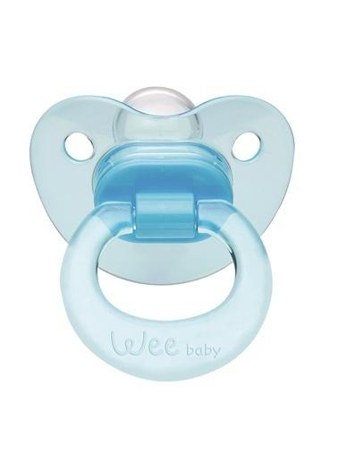 Wee Wee Baby 112 Akide Damaklı Emzik 6-18 Ay  Mavi